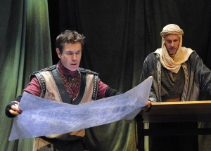 David Barlow as Stucley and Quentin Maré as Krak. (Photo credit: Stan Barouh)