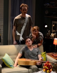 Best friends forever. (L-R): Josh Evans as Eli, JD Taylor as Walter (sitting) and Anna Stromberg as Casey.