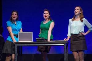 Lynn Craig (June), Sydney Ransom (April), Janice Landry (May) - Photo by Seth Walters.