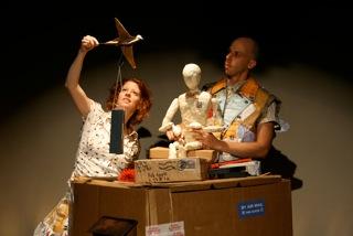 Bonnie Duncan and Tim Gallagher in Poste Restante