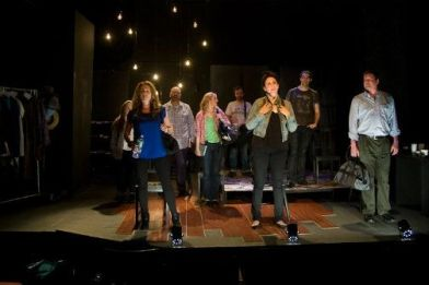 The Ensemble of The Laramie Project. Photo by Justin Hoch